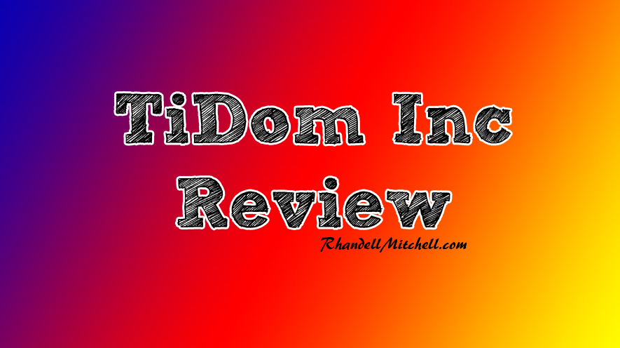 Tidom Review