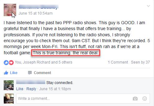 Pure Profit Pro Testimonial