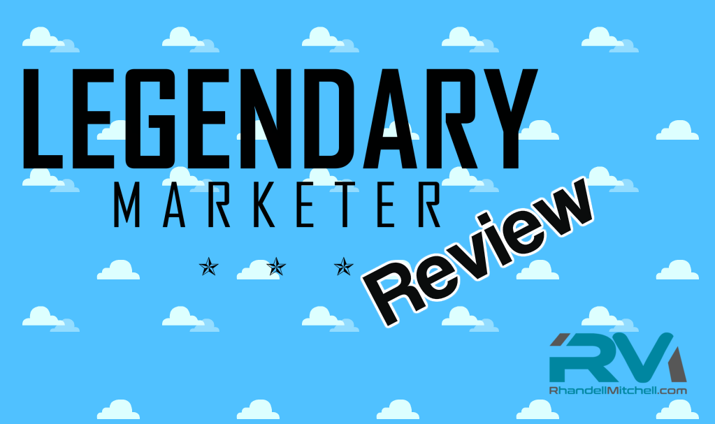 Legendary Marketer  Tutorial Pdf